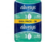 Always Side Ultra Night 3 Wings Big Pack 20Pc