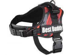 Harnas Best Buddy Pluto Rood