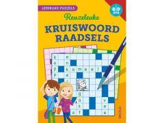 Leerrijke Puzzels - Reuzeleuke Kruiswoordraadsels (8-9 Jaar) Fsc Mix 70%