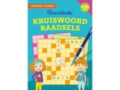 Leerrijke Puzzels - Reuzeleuke Kruiswoordraadsels (9-10 Jaar) Fsc Mix 70%