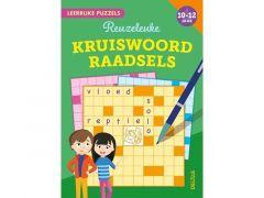 Leerrijke Puzzels - Reuzeleuke Kruiswoordraadsels (10-12 Jaar) Fsc Mix 70%