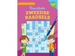 Leerrijke Puzzels - Reuzeleuke Zweedse Raadsels (9-10 Jaar) Fsc Mix 70%