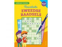 Leerrijke Puzzels - Reuzeleuke Zweedse Raadsels (10-12 Jaar) Fsc Mix 70%