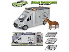 Paarden Transportwagen Licht En Geluid