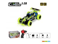 R/C Extrem Racing Buggy Groen