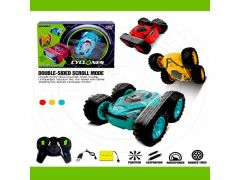 R/C Double Sided Stunt Car Cyclones Rood