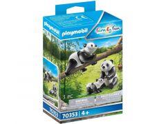 Playmobil 70353 2 Panda'S Met Baby