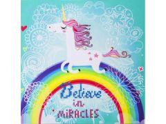 Diamond Dotz Believe In Miracles In Frame: 35X35Cm