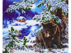 Diamond Dotz Rambling Bear: 52X42Cm