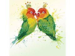 Diamond Dotz Love Birds