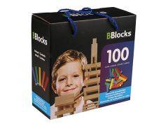 Bblocks 100 St. Kleur In Kartonnen Doos