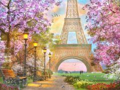 Rainbow Loom Crystal Art Kit Eiffel Tower 40X50Cm