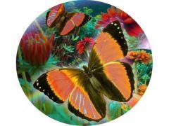 Rainbow Loom Crystal Art Clock Kit Butterfly 30Cm
