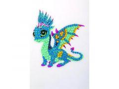 Rainbow Loom Crystal Stickers Friendly Dragon