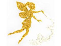 Rainbow Loom Miniart Crafts Golden Fairy Satijn 40X40Cm