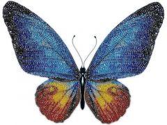 Rainbow Loom Miniart Crafts Butterfly Satijn 40X40Cm