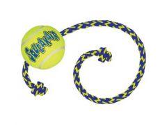 Kong Squeakair® Ball + Rope Medium