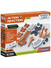 Clementoni Action & Reaction Track & Platform + Crossroads