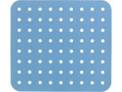 Wenko Spoelbakmat Kristall 31X27,5 Cm Blauw