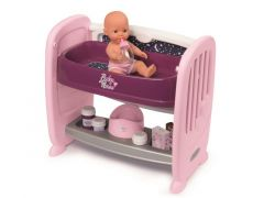 Smoby 220353 Baby Nurse 2 In 1 Co Sleeping Bed