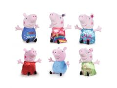 Peppa Pig Happy Oink pluche 30cm Assortiment Prijs Per Stuk