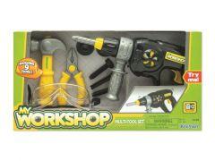 Multi Tool Set Met Oa Boormachine + Hamer +3J
