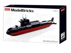 Sluban Model Bricks Strategische Onderzeeer