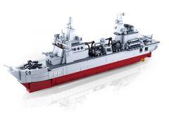 Sluban Model Bricks Bevoorradingsschip