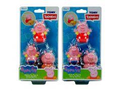 Tomy Waterspuiters 3 Stuks Familie Peppa Pig