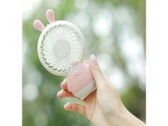 Mykelys Mini Ventilator Konijn Roze