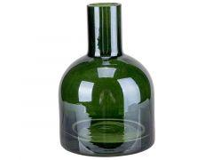 Vaas Donkergroen D7Xh10Cm Glas