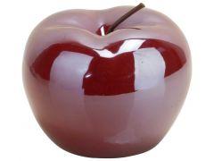 Appel Cherry Lustre Rood 9X9Xh7Cm Porsel