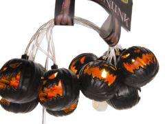 Lichtslinger Pumpkins 10Led Ww Zwart 226