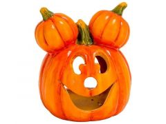 Funny Hoofd Pompoen 2 Pumpkin Ears Oranj