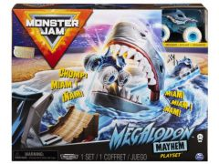 Monster Jam - Basic Playset Megalodon Mayhem With 1:64 Truck