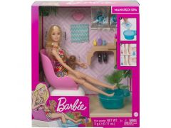 Barbie Wellness Mani-Pedi Salon Playset
