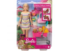 Barbie Loop En Speel Pups Speelset