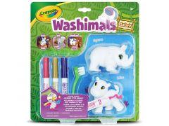 Crayola Washimals - Duopack Neushoorn/Nijlpaard