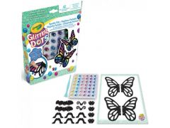 Crayola Glitter Dots - 3D Mozaïken Vlinders
