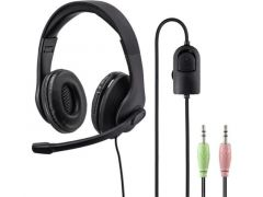 Hama Pc-Office-Headset Hs-P200, Stereo, Zwart