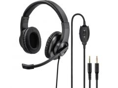 Hama Pc-Office-Headset Hs-P300, Stereo, Zwart