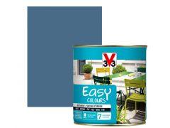V33 Easy Colours Satijn 0.5L Storm Blauw