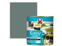 V33 Easy Colours Satijn 0.5L Grijsgroen