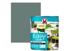 V33 Easy Colours Satijn 2.5L Grijsgroen