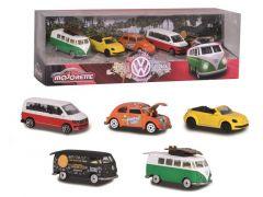 Majorette Volkswagen 5-Delig Giftpack