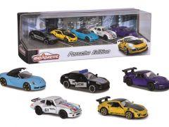 Majorette Porsche 5-Delig Giftpack