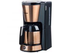 Koffiezetter - 8 Kops - Thermo Koffiekan - 900W - Koper