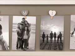 Fotocollage Family 2.0 Wit (Fsc 100%) 78X24 Cm (6)