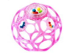 Bright Stars Infant Oball Rattle Pink