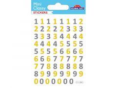 74. Sticker 111 Cijfers Goud/Zilver